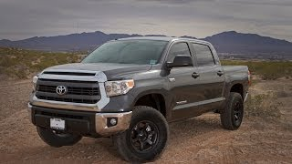 2014 Toyota Tundra Crewmax 4x4 Lift Review