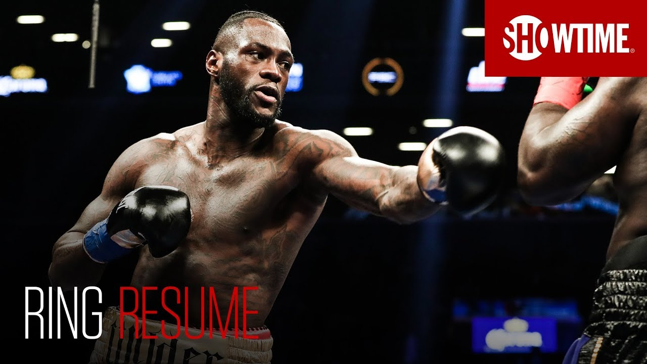 RING RESUME: Deontay Wilder | SHOWTIME Boxing