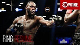 SHOWTIME Boxing analyst and Hall of Famer Steve Farhood takes a look into the boxing career of WBC Heavyweight World Champion Deontay Wilder. Follow ...