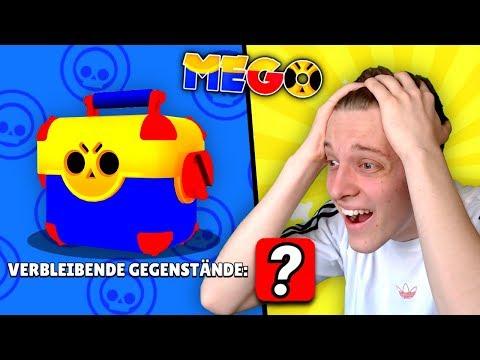 Kurz Vor Der VERZWEIFLUNG Habe Ich *DAS* Gezogen! 😱 | Brawl Stars Mega Box Opening MEGO #25 Deutsch