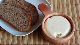 Домашнее сливочное масло (проверенный рецепт).