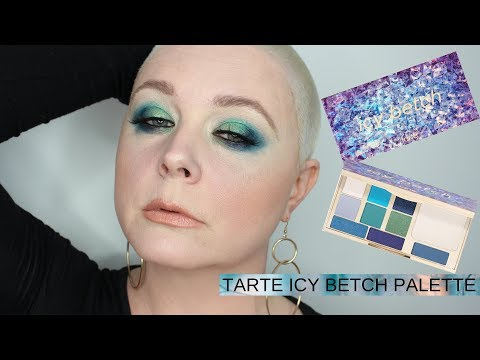 TARTE ICY BETCH PALETTE | Swatches , Tutorial & Review! thumbnail