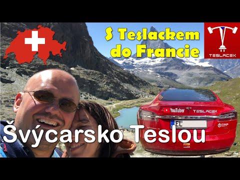 #104 Tesla Trip Bern a Matterhorn (Švýcarsko Den 1. - 4.) | Teslacek
