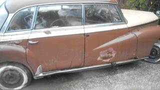 1957 mercedes-benz W189 300d adenauer ready for shipping