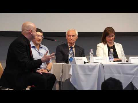 Panel Discussion at HCLU's Medical Cannabis Conference, Budapest