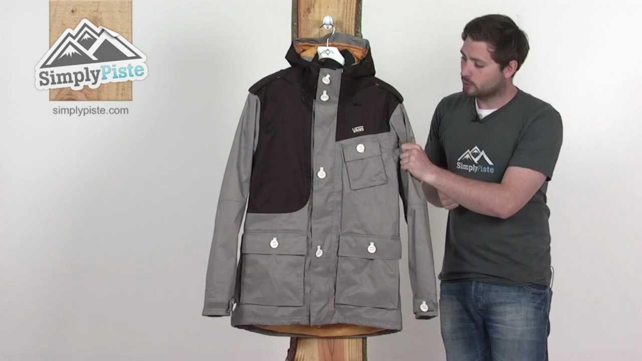 vans parka jacket