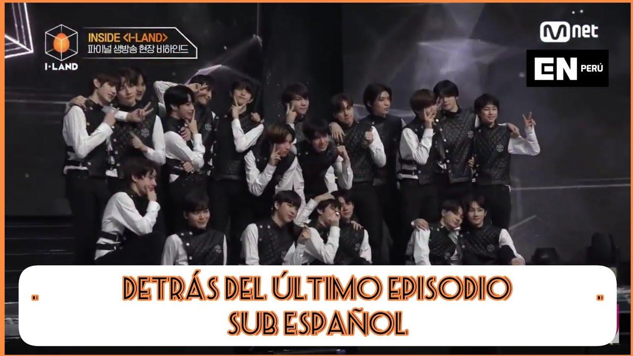 Download [Sub Esp] [I-LAND] INSIDE 'I-LAND' FINAL EP. l Detrás de escena de la transmisión final en vivo