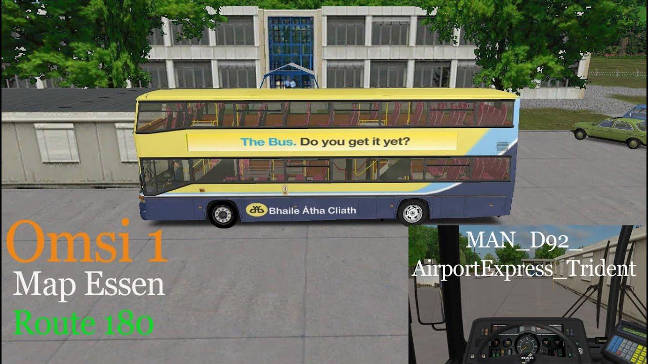 Omsi 1 Map Essen Route 180 Dublin Bus