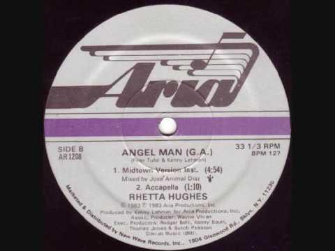 Rhetta Huges Angel Man Instrumental Version 1983
