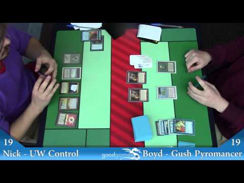 Brisbane Vintage League Quarter Finals UW Control Vs Gush Pyromancer