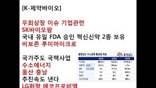 [K-제약바이오]우회상장 이슈 대어 비보존 루미마이크로…