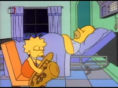 "Lisa sax solo ""baker street"" (simpsons version)"
