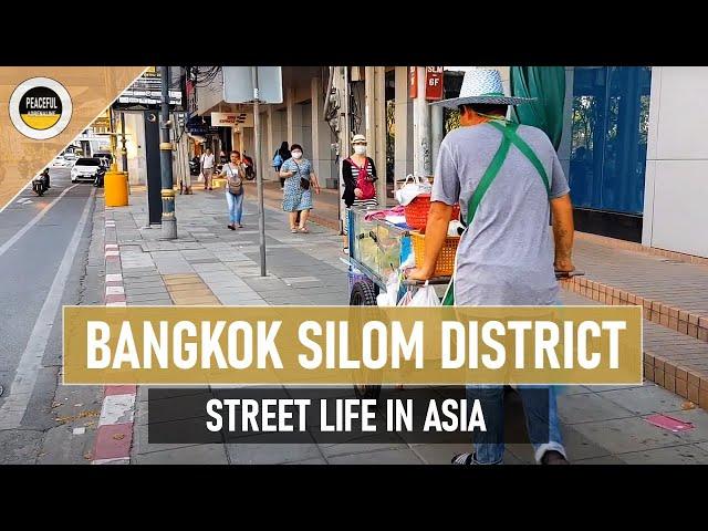 King Power MAHANAKHON, street food i hotele. Dzielnica SILOM w Bangkoku. STREET LIFE #10
