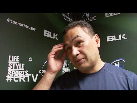 Guinness PRO12 Semi-Final - Interview with Pat Lam