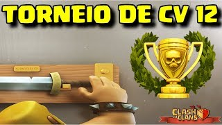 CLASH OF CLANS - TORNEIO DE TH12 - feat MARINAUL e VIN DIESEL - BOA NOITE ! LIVE ON !!