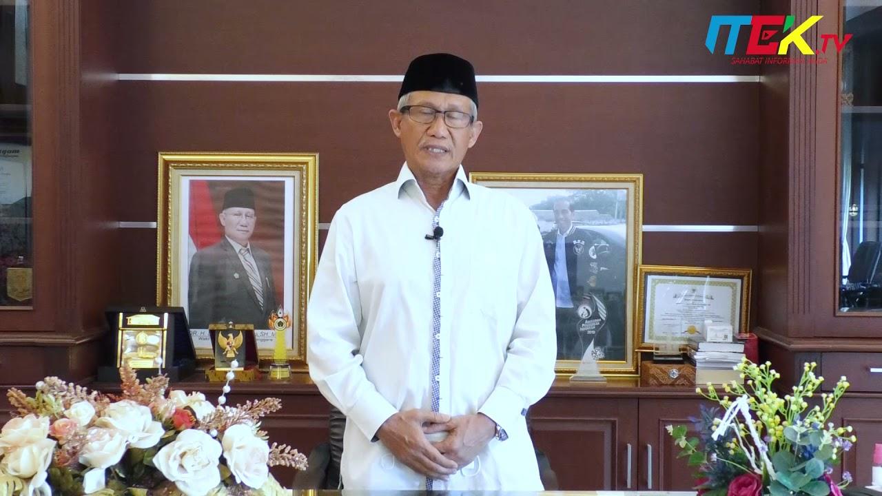 Ucapan Selamat menunaikan ibadah Puasa Ramadhan 1442 H Oleh Wakil Gubernur Sultra.