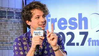 Charlie Puth Quizzed On His Favorite Things In New Jersey