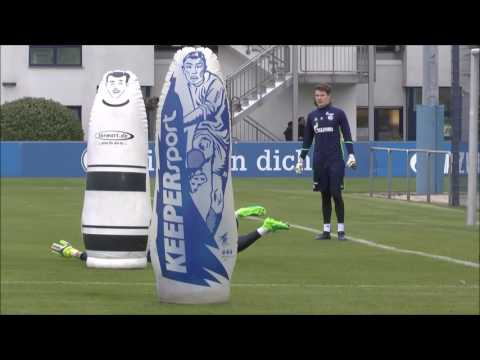 FC Schalke 04 Goalkeeper Training 02.05.2017