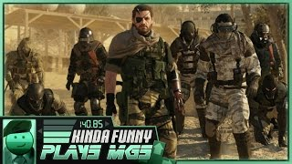 Metal Gear Solid V: The Phantom Pain - Extracting a Highly Skilled Soldier - Kinda Funny Plays