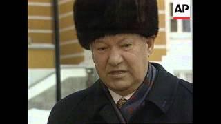 RUSSIA: MOSCOW: PRESIDENT BORIS YELTSIN RETURNS TO KREMLIN