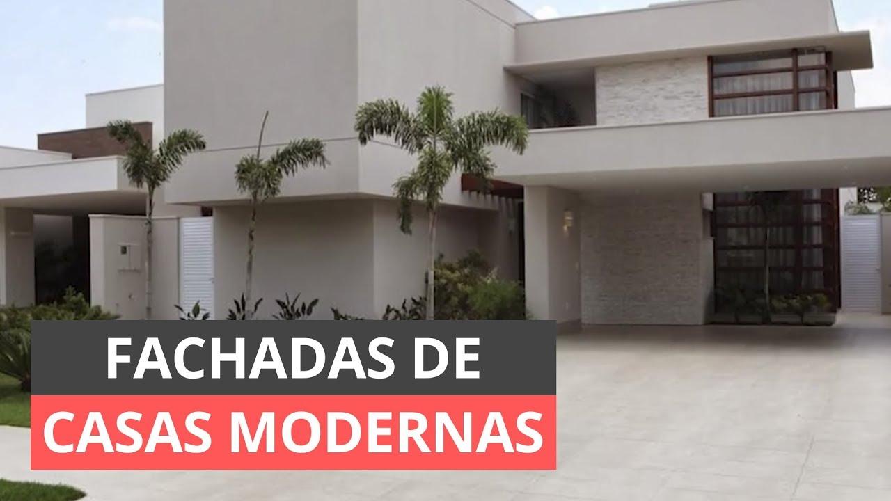 Fachadas de casas modernas inspire se youtube for Fachadas de frentes de casas modernas