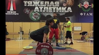 ЯшанькинвТА Klokov weightlifting camp Чехов