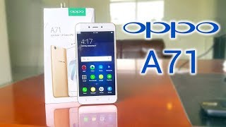 OPPO A71 unboxing A71 first impressions - Urdu / Hindi