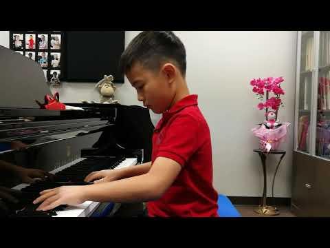 Anson Yu 7 Years Plays Korean Serenade