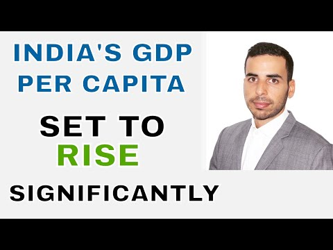 GDP Per capita in India to rise significantly - stock market beginners india - Learn stocks India