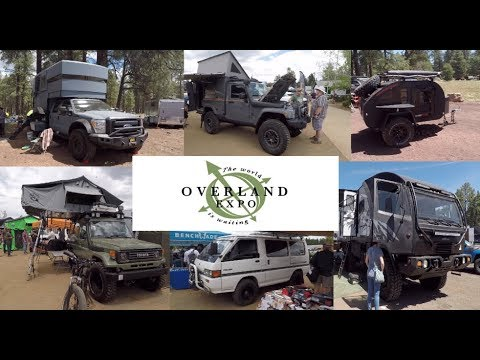 Overland Expo 2018 - the biggest vehicle camping and outdoor expo in the USA