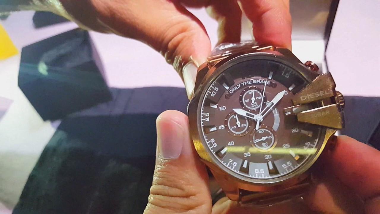 c8c8234e61a Relógio Diesel 10Bar Mostrando Funcionamento e maquinário - YouTube