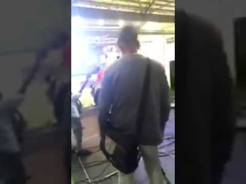 Punjabi Singer Ninja Fights during Rehearsal
