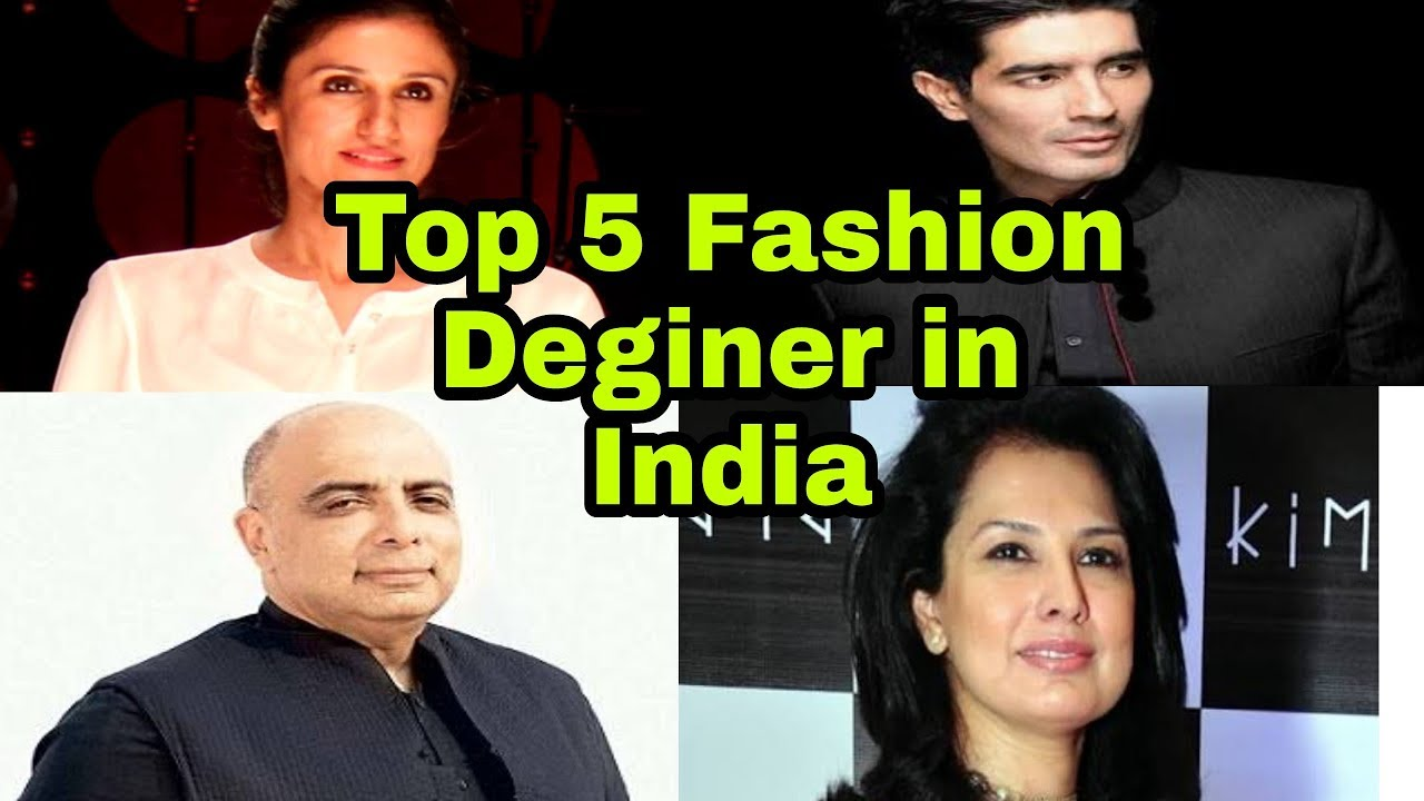 Top 5 Famous Fashion Designers In India Satya S Lookbook Youtube