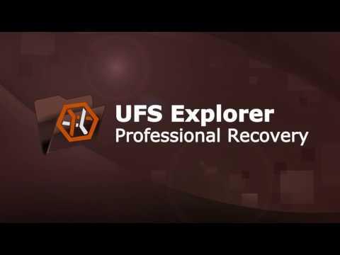 UFS Explorer Professional Recovery - presentation