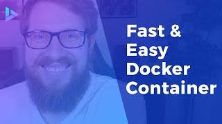 Fast & Easy Docker Container For Local WordPress Development
