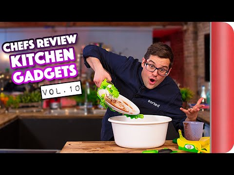Chefs Review Kitchen Gadgets Vol.10 (Ft. The Automatic Plate Washer!?)