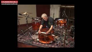 John Bonham Vistalite Drum Kit: Setting UP & Tuning Secrets