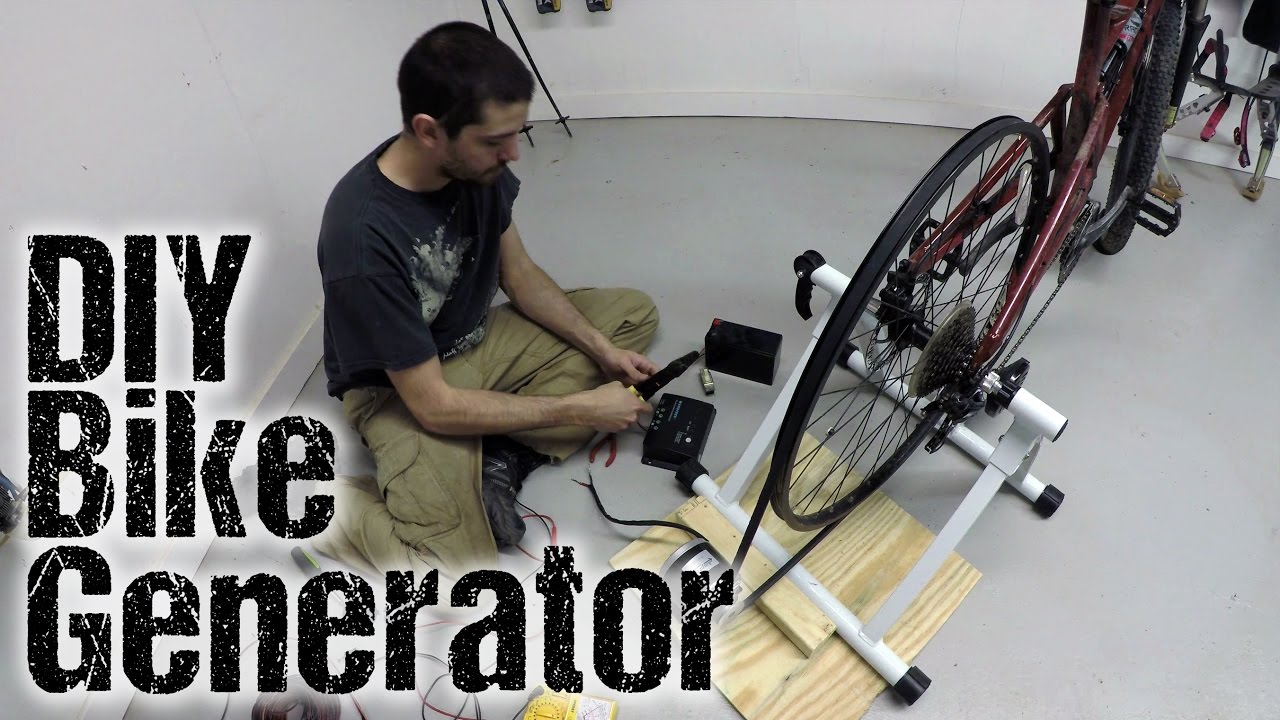 cycle electric generator wiring diagram building a bike generator youtube  building a bike generator youtube