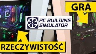 Zbudowałem MÓJ KOMPUTER W GRZE - PC Building Simulator #21