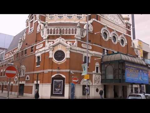 Belfast Grand Opera House Theatre Outside Views