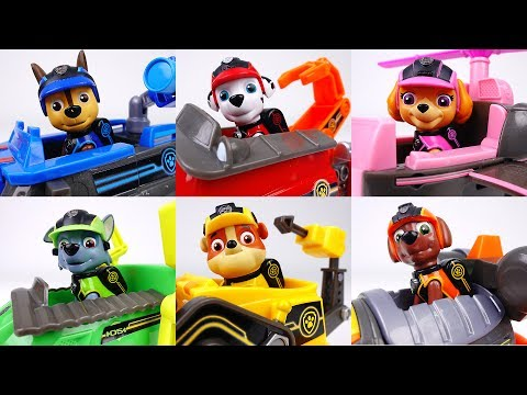 Thumbnail: Paw Patrol Mission Paw Vehicles~! Help People In Danger