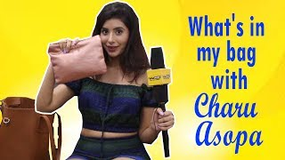 What's in my bag with Charu Asopa