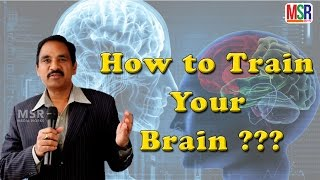 How to Train Your Brain?? How to Improve Memory Power??  Success Talk With JayaSimha || MSR TV