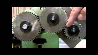 Differential Indexing Using a Dividing Head