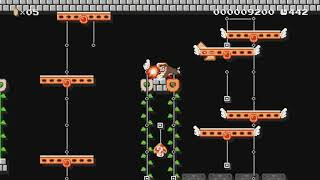 Donkey Kong (Arcade) by Diego - Super Mario Maker - No Commentary