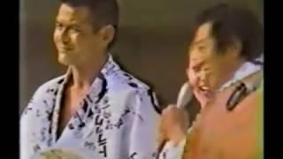 菅原文太●愛川欽也 トラック音頭盆踊り