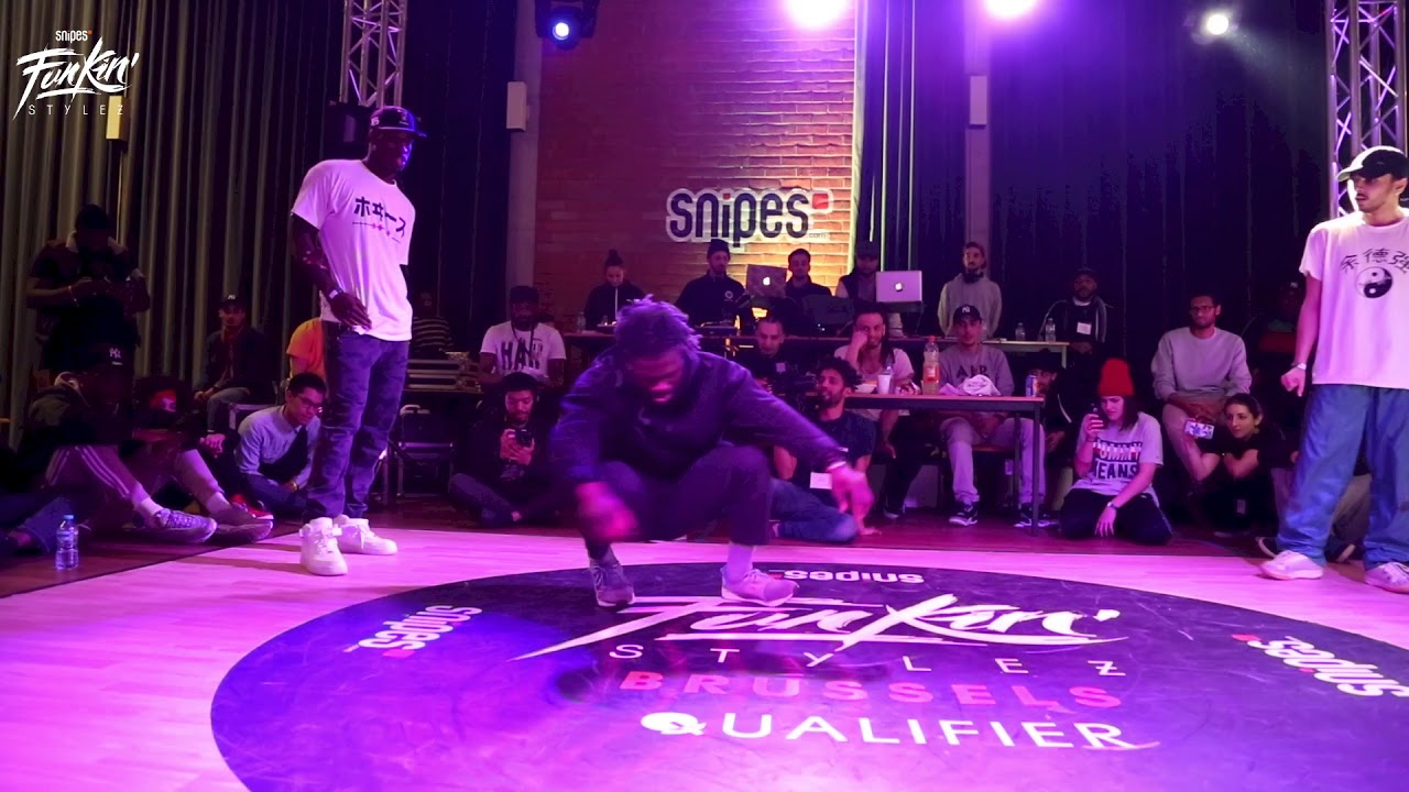 Final Freestyle    Snipes Funkin Styles Belgium 2018