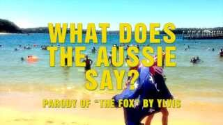 Australian slang - What does the Aussie say ? - parody of