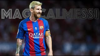 Lionel Messi - The 10 Smartest Ways to Create Space to Score a Goal - HD