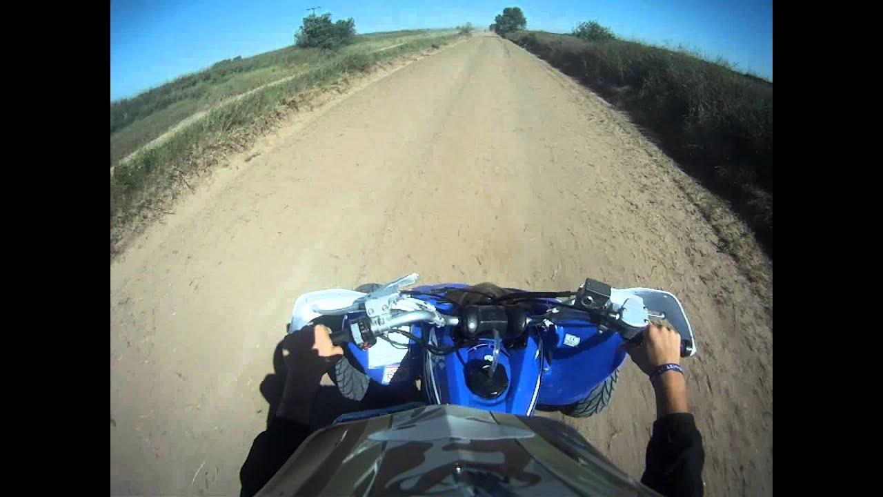 Yamaha raptor 250 top speed - YouTube